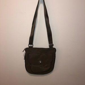Brown Baggallini Crossbody Bag